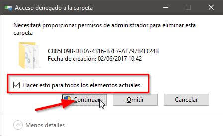 Eliminar archivos temporales en Windows 10