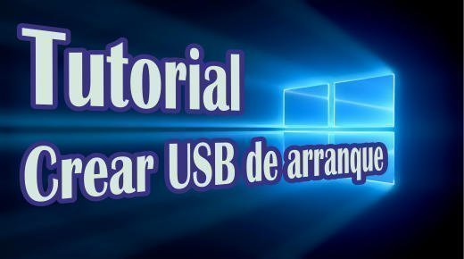 Tutorial crear USB de arranque de Windows 10