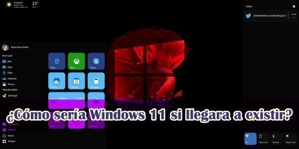 Como sería Windows 11 si existiera